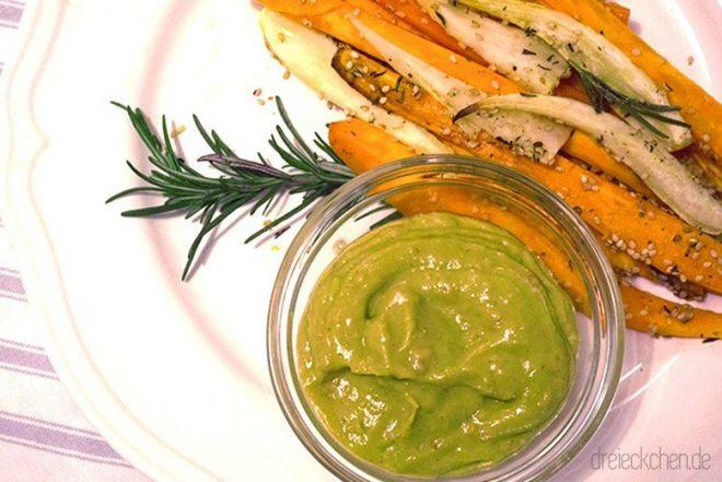 leckere Wedges aus Gemüse