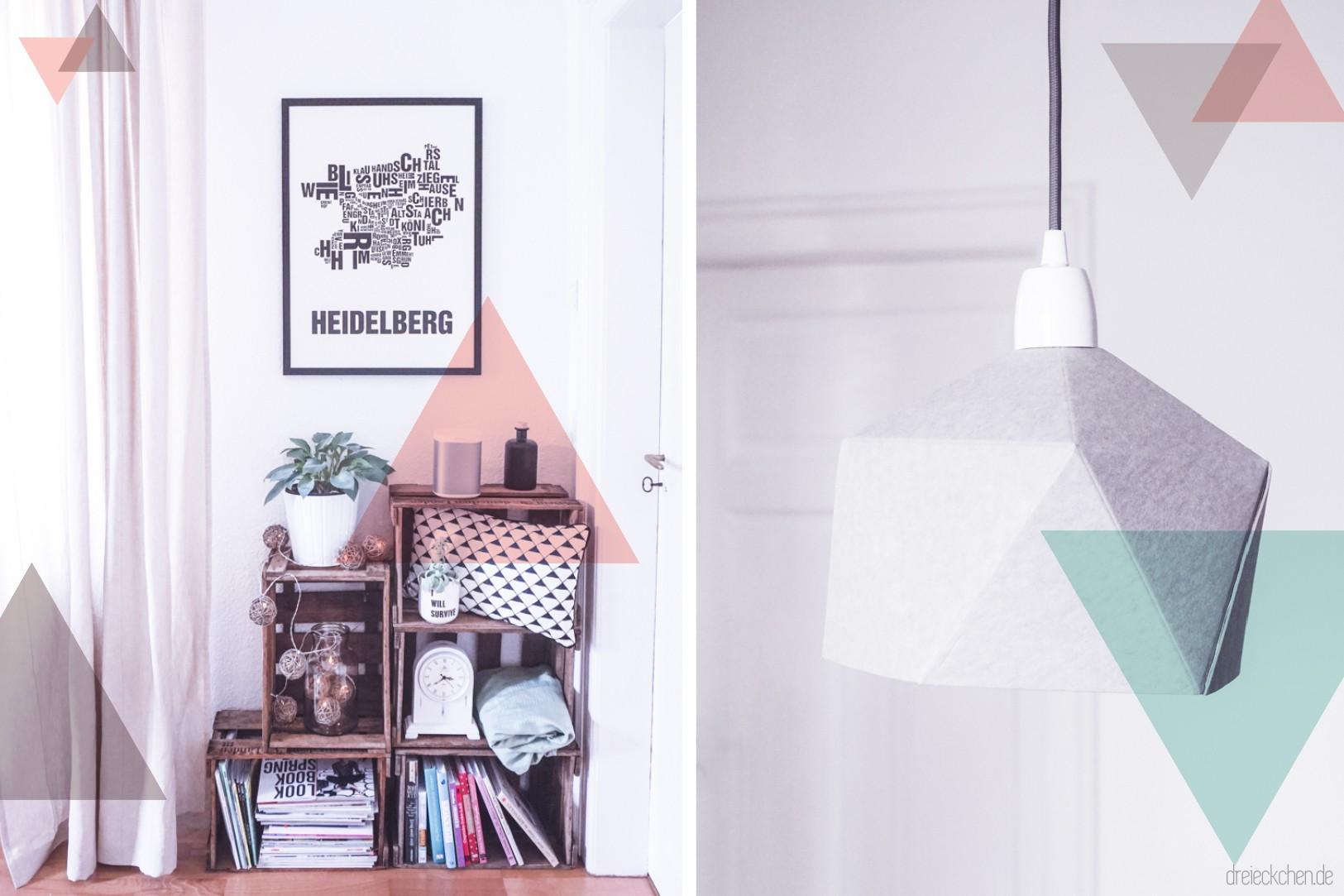 Wohnzimmer Inspiration - Weinkisten-Regal mit Deko-Ideen in ...