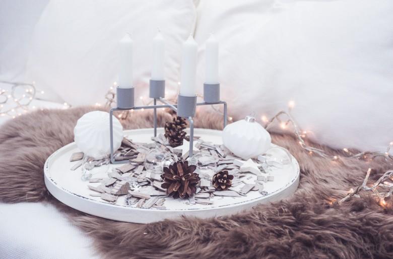 adventskranz inspiration skandinavisch weiss schlicht blog. Black Bedroom Furniture Sets. Home Design Ideas