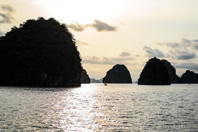 Halong Bucht - Erfahrung mit Indochina Junk