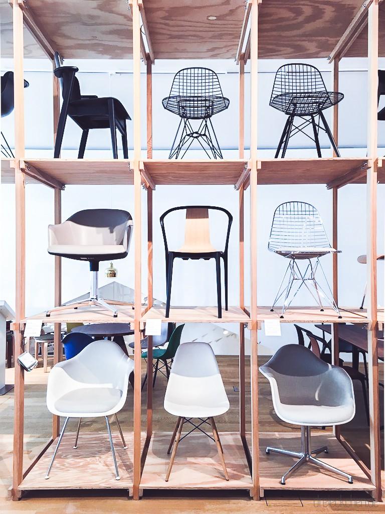 Varianten vom Eames Chair und Eames Armchair