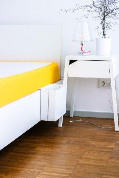 schlafzimmer im skandinavischen stil neu eingerichtet. Black Bedroom Furniture Sets. Home Design Ideas