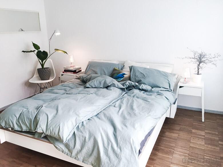 Schlafzimmer im skandinavischen Stil – neu eingerichtet und ...