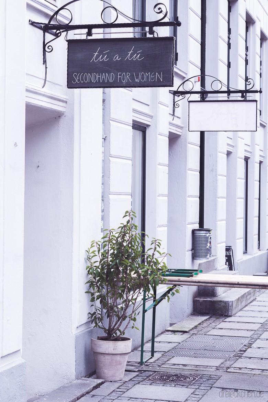Second Hand Shop in Kopenhagens beliebtem Viertel Norrebro