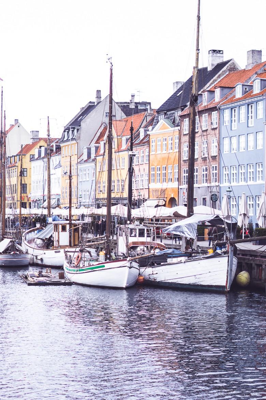 Kopenhagen Hafen Nyhvan