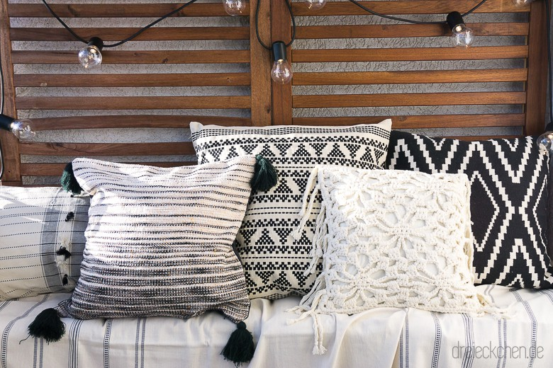 3 deko tipps f r den balkon so einfach geht der boho look dreieckchen lifestyle blog. Black Bedroom Furniture Sets. Home Design Ideas