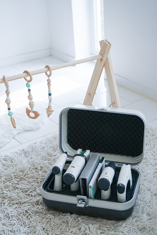 Fabulous Anleitung für einen Baby Spielbogen aus Holz - Besonderes Geschenk EM49