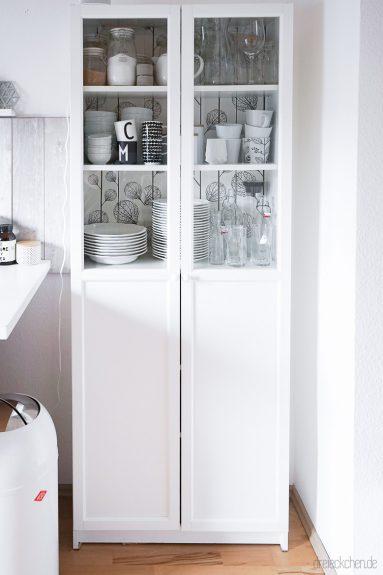 Ordnungstipps für eine aufgeräumte Küche mit IKEA Hack - Vom Billy ...