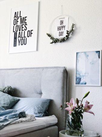 Schöne Bilder und Prints für dein Schlafzimmer