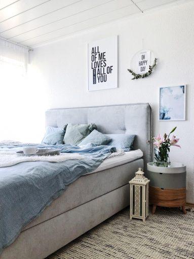 schlafzimmer versch nern ideen inspiration und tipps zum einrichten werbung dreieckchen. Black Bedroom Furniture Sets. Home Design Ideas