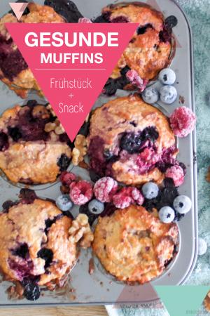 Gesundes Muffin Rezept für Kinder