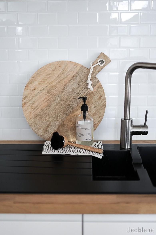 Küchenrückwand aus Metro Fliesen für den beliebten Scandi ...