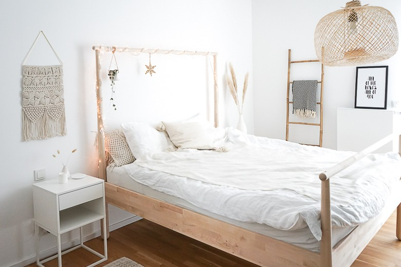Schlafzimmer Einrichten Natürliche Deko Ideen Mit Ziergräsern