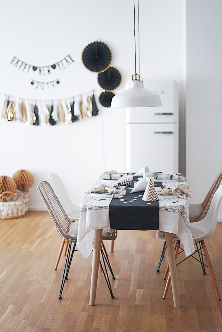 Dekorieren Für Silvester Ideen Für Tischdeko Wanddeko Und