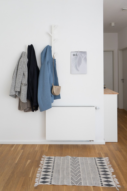 Wohnideen Mit Neuer Wandfarbe Tipps Zum Garderobe Und Wohnzimmer