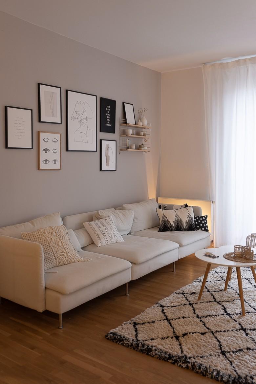 Smarthome Beleuchtung mit Philips Hue im Wohnzimmer und Essbereich