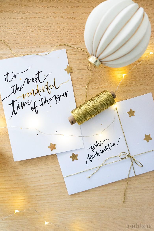 Weihnachtskarten Mit Briefumschlag Basteln 3 Einfache